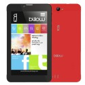 "TABLET BILLOW X704R 7"" QUAD 4G 1.2GHZ/8GB/1GB RED*"