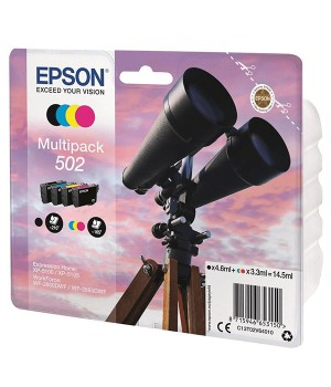 INK JET EPSON ORIG. C13T02V64010 MULTIPACK 4 COLORES 502