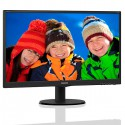 "MONITOR LED PHILIPS V-LINE 240V5QDSB 23.8"" VESA 100 NEGRO"