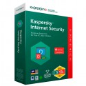 SOFTWARE KASPERSKY INTER. SECU.10 USER 2019 1AÑO