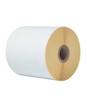 ROLLO PAPEL CONTINUO  BROTHER ADHESIVO 102MM X 56,4M
