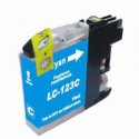 INK JET COMP BROTHER LC123C CYAN