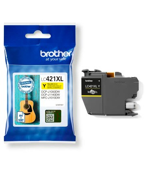 INK JET BROTHER ORIG LC421XLY HASTA 500 PAG.