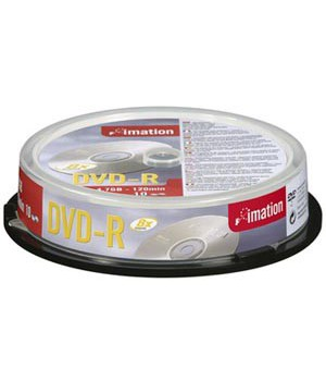 DVD-R IMATION 16X CAKE 10